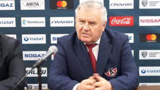 """Пресс-конференция: """"Йокерит"""" - """"Автомобилист"""" (26.01.2017)"""