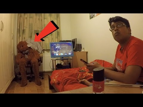 Thumbnail: Moving Teddy Bear Scare Prank On Little Brother *BACKFIRES*