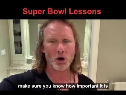Super Bowl Lessons