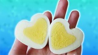 Необычное яйцо в форме сердечка! Как такое возможно?