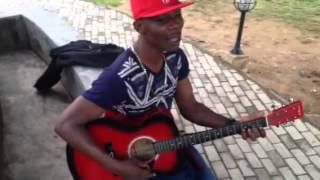 G6ix Guiter freestyle to am for real by Flavour
