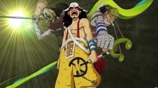 kekuatan mengerikan usopp yang sangat hebat arc wano kuni di anime one piece