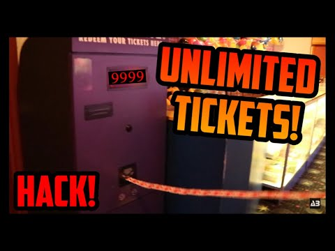 100% WIN RATE! HOW TO GET UNLIMITED TICKETS FROM THE ARCADE!! (HACK)