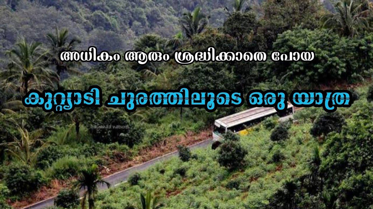 Kuttiyadi churam wayanade | meenmutti water falls wayanade | കുറ്റ്യാടി ചുരം മീൻമുട്ടി വെള്ളച്ചാട്ടം