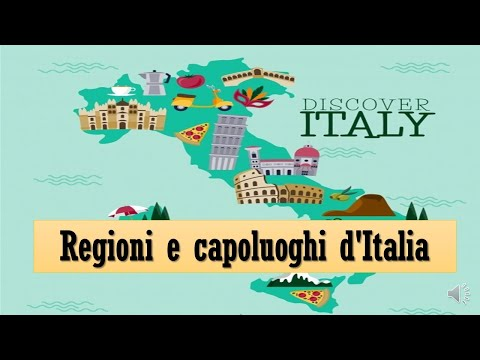 Regiones de Italia y Capitales -   Regioni d'Italia #regioniitaliane #capoluoghiditalia #italia