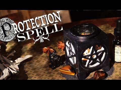 Simple Protection Spell  Spiritual DIY~ The White Witch Parlour