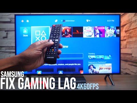 2019 Samsung 7 Series 4k TV Gaming Lag Fix