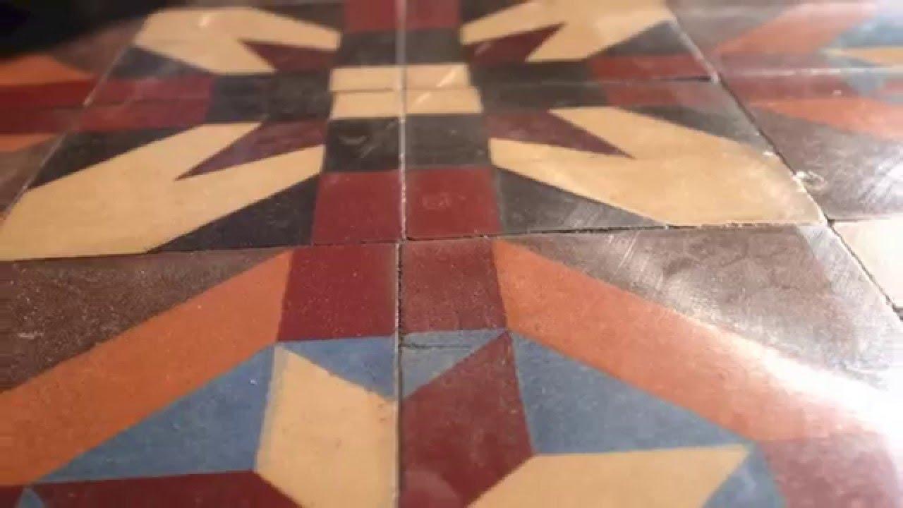 Limpiar Y Abrillantar Un Pavimento Antiguo En Barcelona Youtube