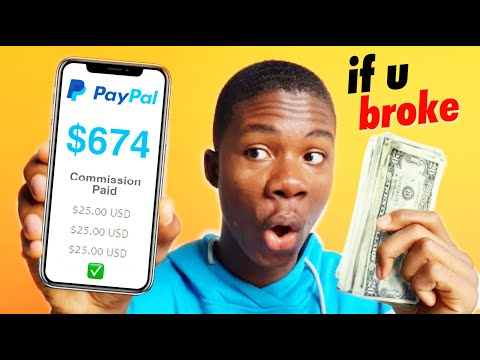 Get Paid $600 FAST If You Broke! (Make Money Online 2021)