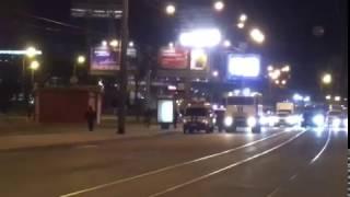 Полиция перекрыла проспект Добролюбова у ''Спортивной''