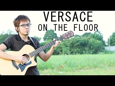 Versace on the Floor - Bruno Mars (fingerstyle...