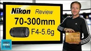 Review Lente Nikon 70-300mm Af Zoom F4-5 6g em Portugues - Vale a pena lente 70-300mm