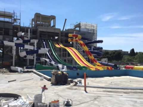Sunset Resort Water Park Construction Updates 04 06 2015