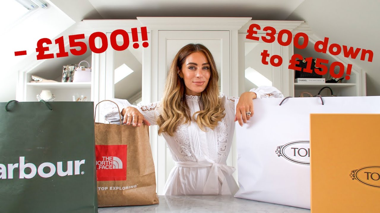 COME SHOPPING WITH ME TO BICESTER VILLAGE   Lydia Elise Millen