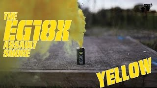 Enola Gaye EG18X Yellow Smoke Grenade