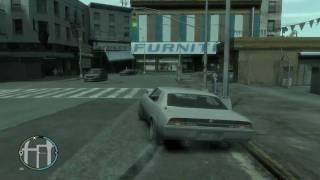 GTA IV Gameplay Medium - High Settings [720P] HD