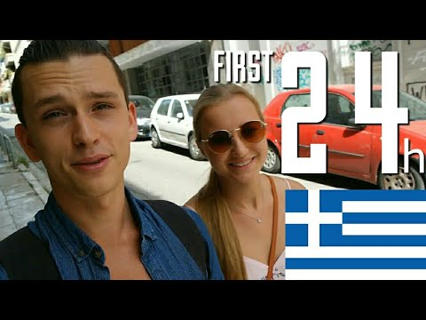 Our FIRST 24 HOURS in Athens,Greece !