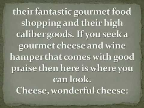 Gourmet Cheese and Wine Hampers for the Foodie in your Life