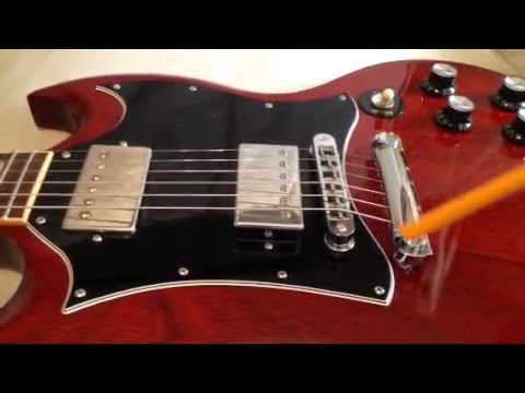 Sg Guitars And Pickup Angle Youtube