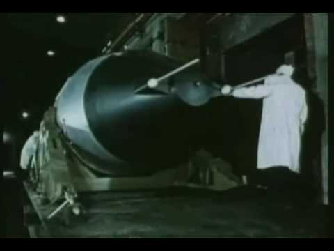 The largest nuclear weapon ever: Tsar Bomba 50 Megatons
