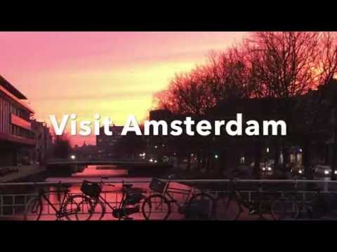 Canals of Amsterdam, The Netherlands - SCRLT - 4K HD