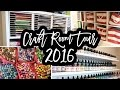 Craft Room Tour 2016