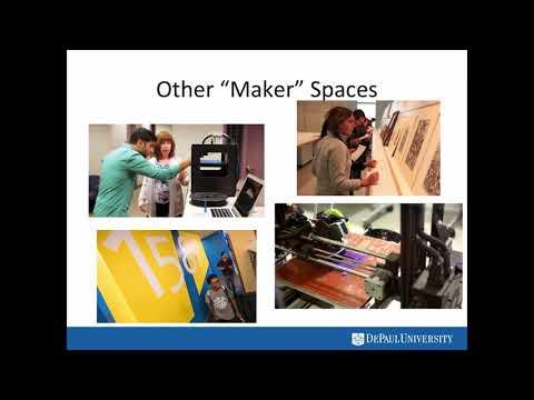DePaul Makes: Building the Maker Community at DePaul University and Beyond