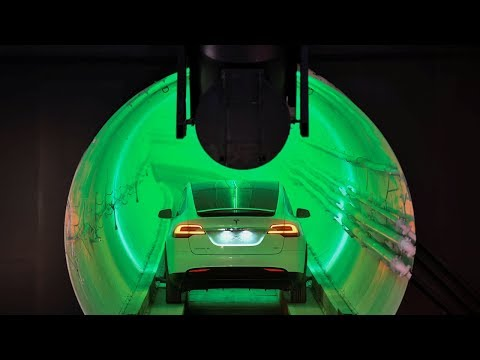 Elon Musk's tunnel would allow cars to drive at 241km/hr