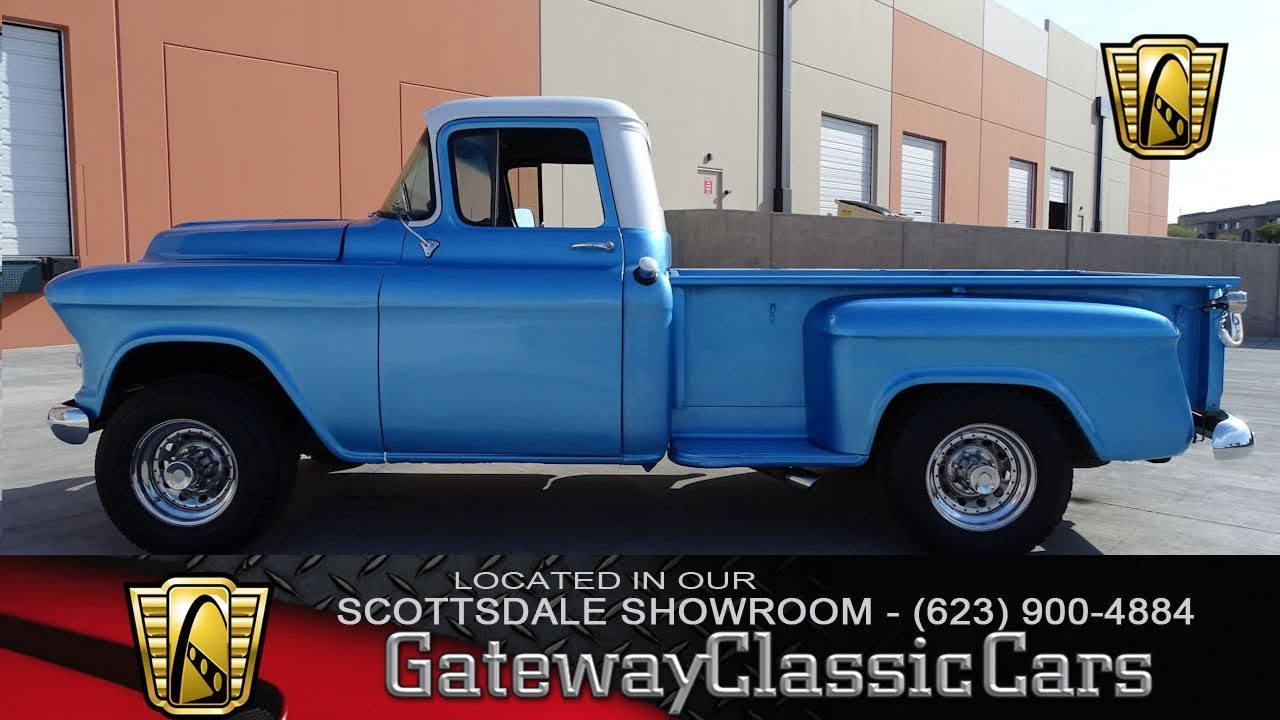 1957 chevrolet 3600 pickup gateway classic cars of scottsdale 168 [ 1280 x 720 Pixel ]