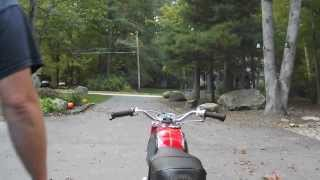 honda cb160 video 001