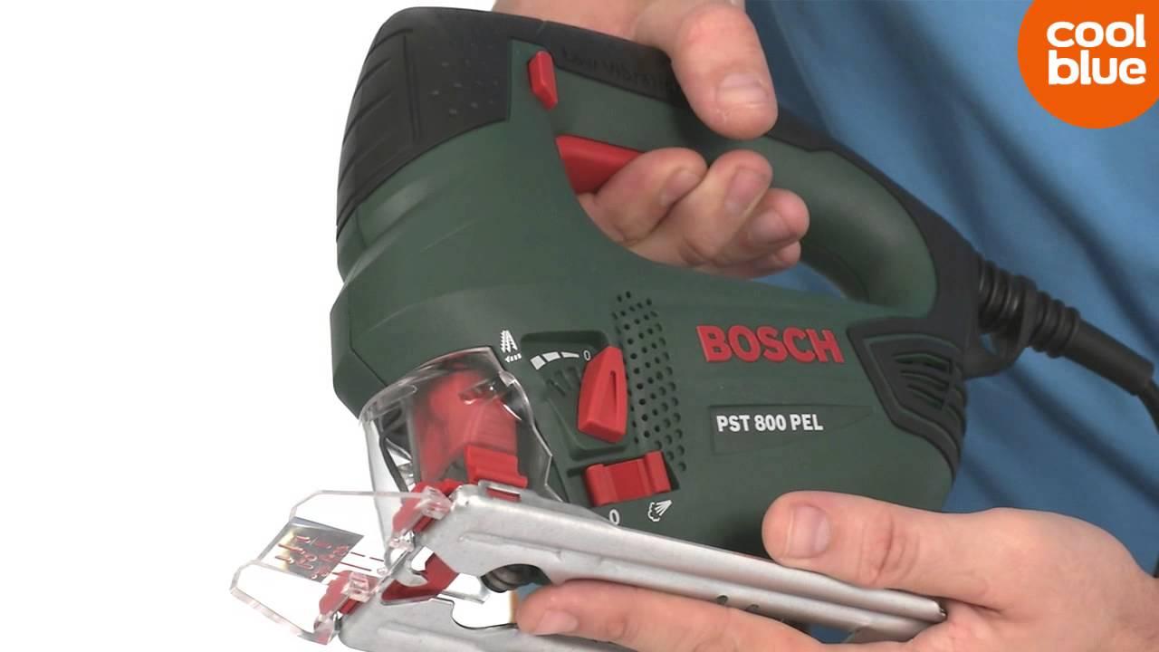 Bosch PST 800 PEL decoupeerzaag productvideo (NL BE) - YouTube 9fc434bf5ce