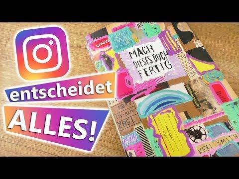 """Instagram entscheidet ALLES! """"Mach dieses Buch fertig!"""" Wird das Buch geflutet?! Geschenk Idee"""