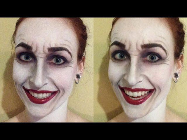 Classic Joker Makeup Tutorial Island Girl - Joker-makeup-tutorial