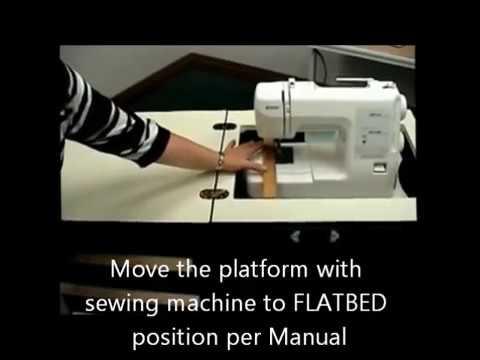 Arrow Bertha Sewmatra Sewing Table Airlift Adjustment Tutorial Amazing Bertha Sewing Machine Cabinet