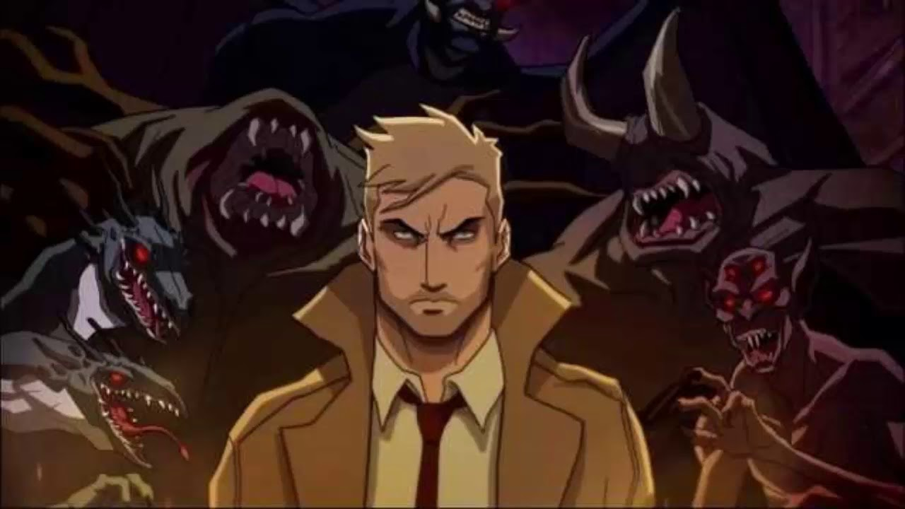 CONSTANTINE: CITY OF DEMONS: Check Out A Behind The Scenes Look At The  Upcoming CW Seed Series
