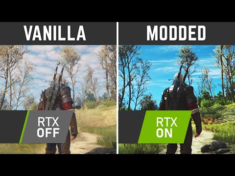 Insane Witcher 3 Mods With Ray Tracing!
