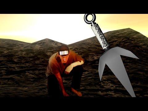 Hiraishin no Jutsu in Action - REAL LIFE Naruto Fight Scene