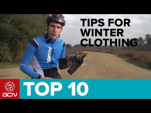 Top 10 Tips For Winter Clothing - How To Dress For Cycling In Winter