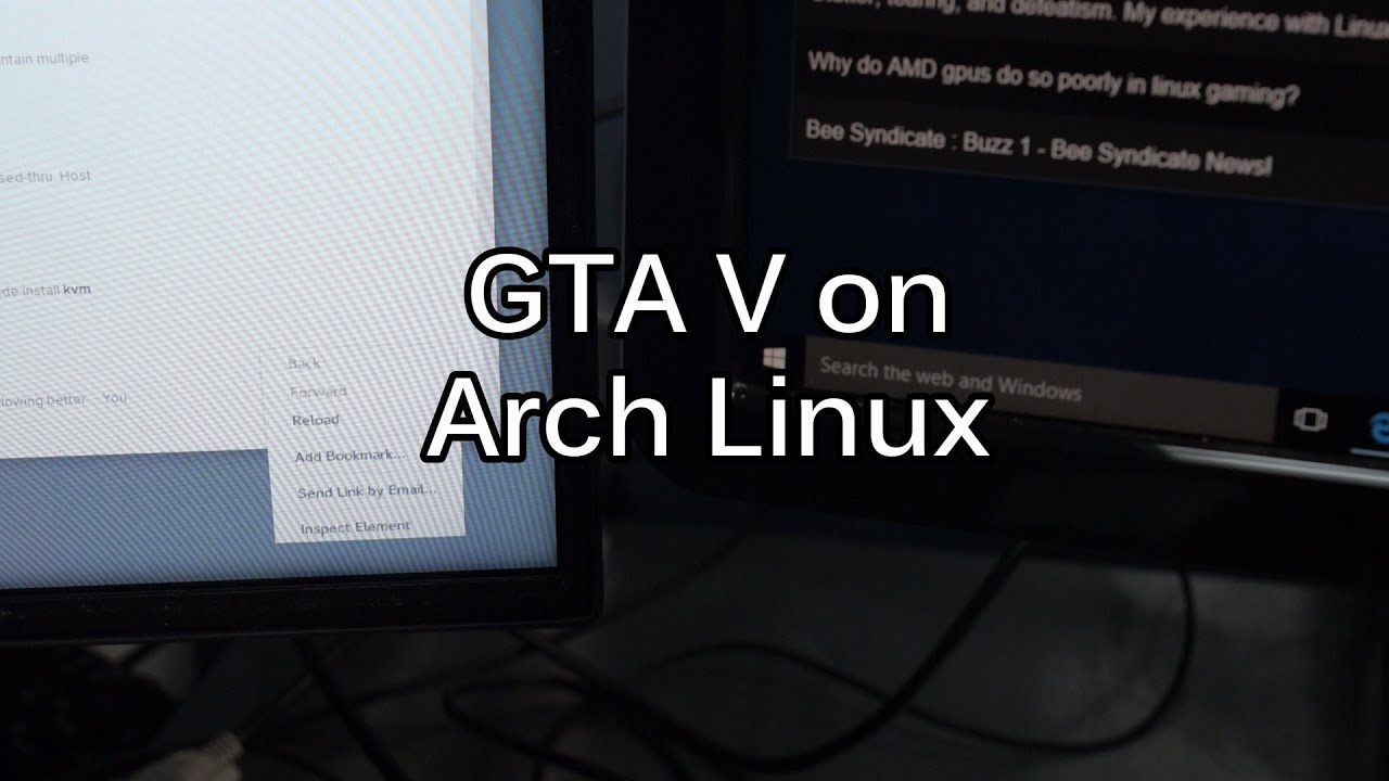 Skylake Linux Box with PCIe Passthrough - OVMF + Qemu + KVM = GTA V