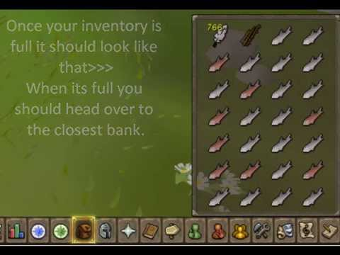 RUNESCAPE TUTORIAL: How To Fly Fish!