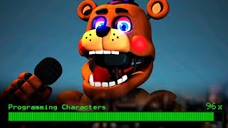 UM ANIMATR NICO MISTERIOSO PARA FIVE NIGHTS AT FREDDY S 6 ULTIMATE CUSTOM NIGHT