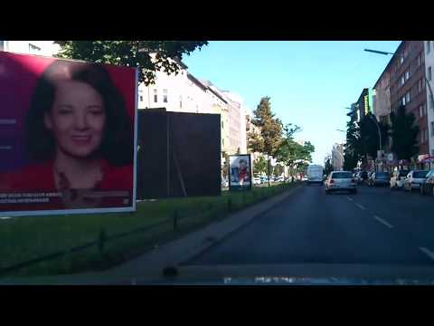 Driving through Berlin  Part 1 / Autofahrt durch Berlin Teil 1