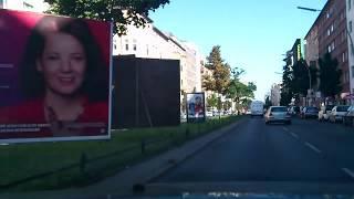 Driving through Berlin  Part 1 / Autofahrt durch Berlin Teil 1
