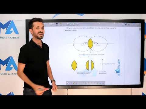 Eğitim10line Fizik - Fizik Mercekler (OPTİK) Konu Anlatımı ( Hüseyin Eşençayı )