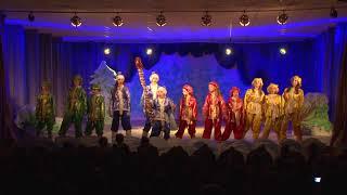 Новогодний детский спектакль 12 месяцев Серпантин, Аллегро, Color Music