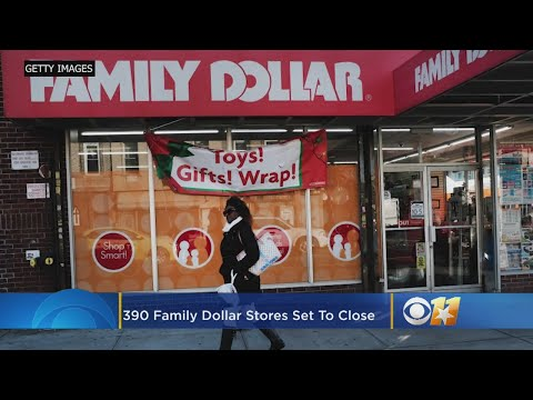Dollar Tree Set To Close Nearly 400 Family Dollar Store Locations