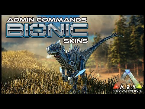 All Bionic Skin Admin Commands | Ark Survival