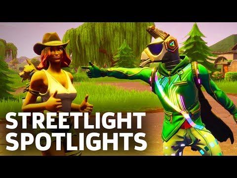 Fortnite - Dance Under Streetlight Spotlights (Season 6, Week 1)