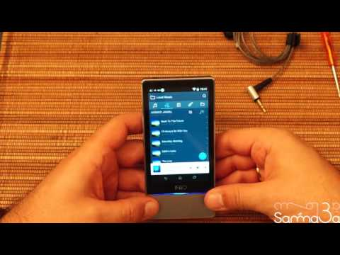FiiO X7 DAP Portable Music Player Bluetooth Android Base Review