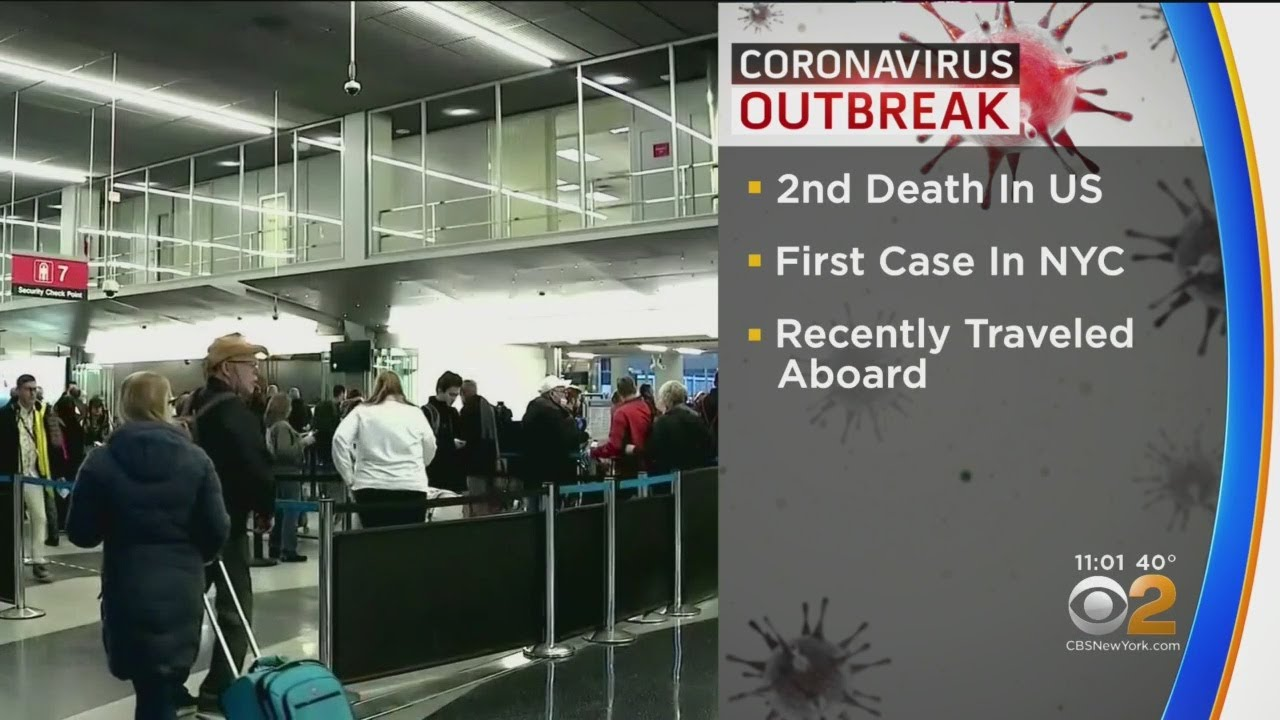 Coronavirus Update: Second Death In Washington, First Case In NYC ...